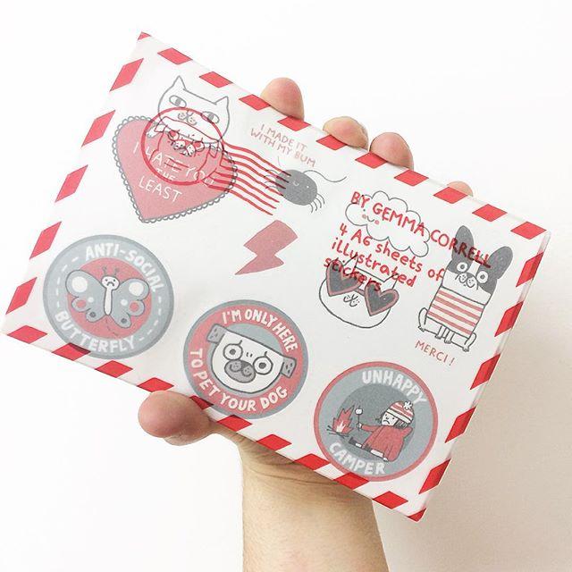 gemma correll stickers